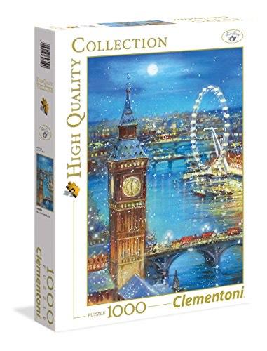 Puzzle Clementoni Flocons de Neige on The Big Ben - 1000 pièces