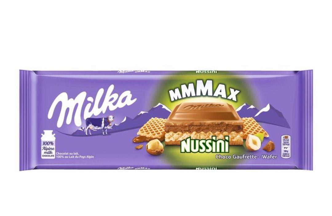 Tablette de chocolat Milka Mmmax - Différentes variétés, 300g (via 0.74€ sur la carte de fidélité)