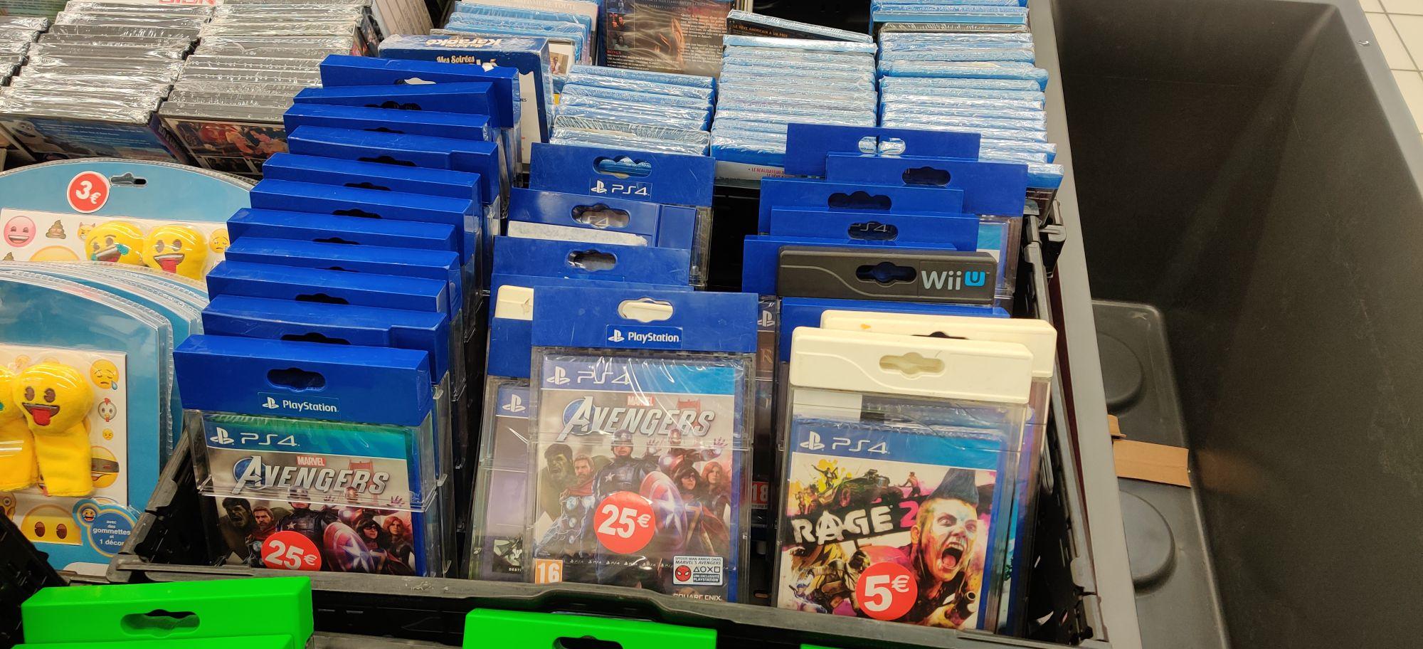 Sélection de jeux-vidéo en promotion - Ex: Rage 2 sur PS4 - Auchy-les-Mines (62)