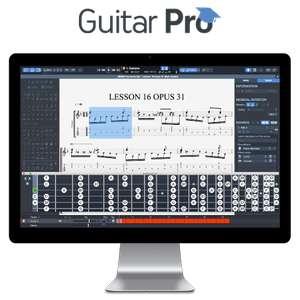 20% de réduction sur les licences Guitar Pro - Ex : Guitar Pro 7.5 Version complète sur PC & Mac (Dématérialisé - guitar-pro.com)