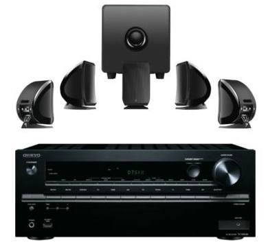 Ampli HC 7.2 ou 5.2.2 Onkyo TX-NR646 (4K, 2 sorties HDMI, 1 entrée Phono, Dolby Atmos, DTS:X, HDCP 2.2, Spotify/Deezer/AirPlay, Bluetooth & AccuEQ) + Kit 5.1 Focal Sib & Cub3 Jet Black