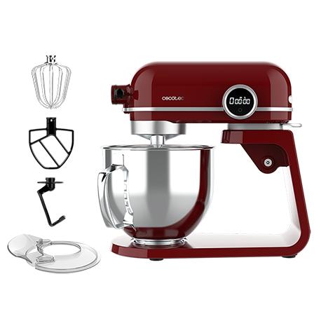 Robot pâtissier Cecotec Twist&Fusion 4500 Luxury Red