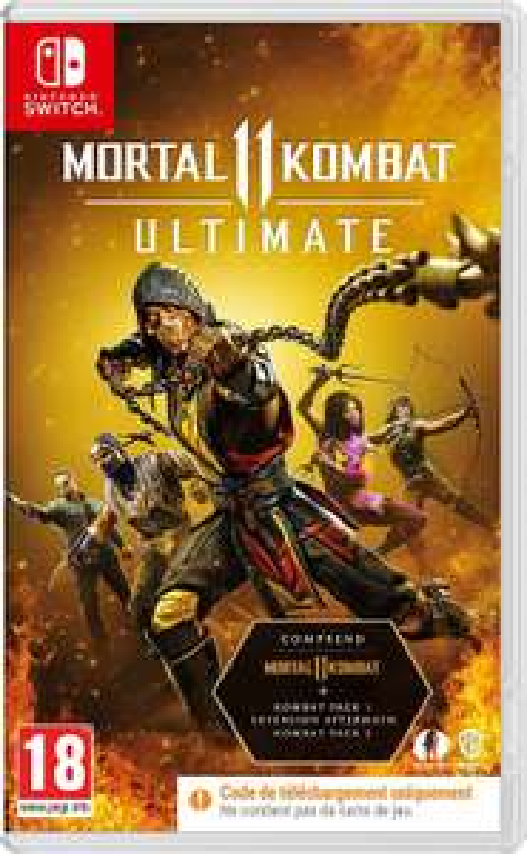 Jeu Mortal Kombat 11 Ultimate sur Nintendo Switch (Code in the box)