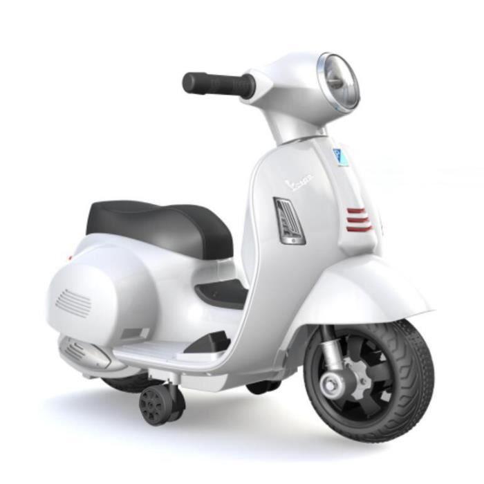 Scooter électrique pour enfants Vespa GTS - Phare avant lumineux