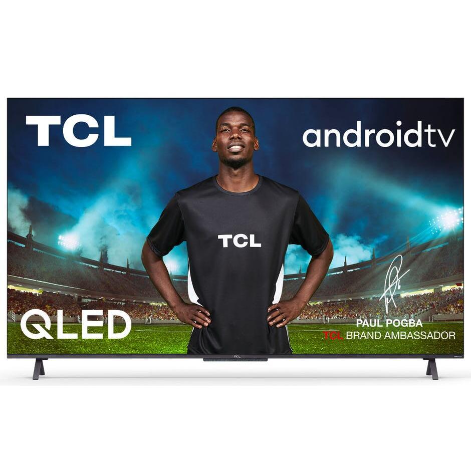 """TV 55"""" TCL 55C721 (2021) - QLED, 4K UHD, HDR Pro, Dolby Vision, Android TV (Via ODR de 200€)"""