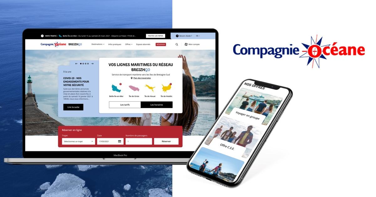 10% de remise sur les billets passagers - Compagnie Océane (56)