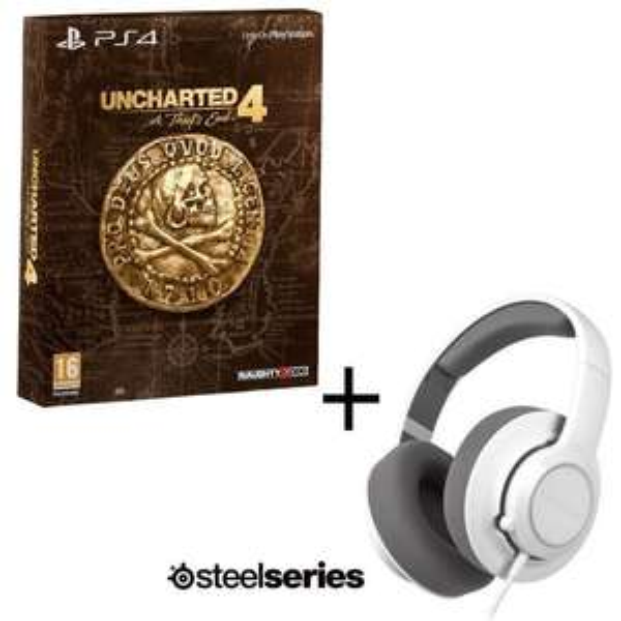 [Précommande] Uncharted 4 : A Thief's End - Edition Spéciale sur PS4 + Casque Gaming Steelseries Siberia RAW