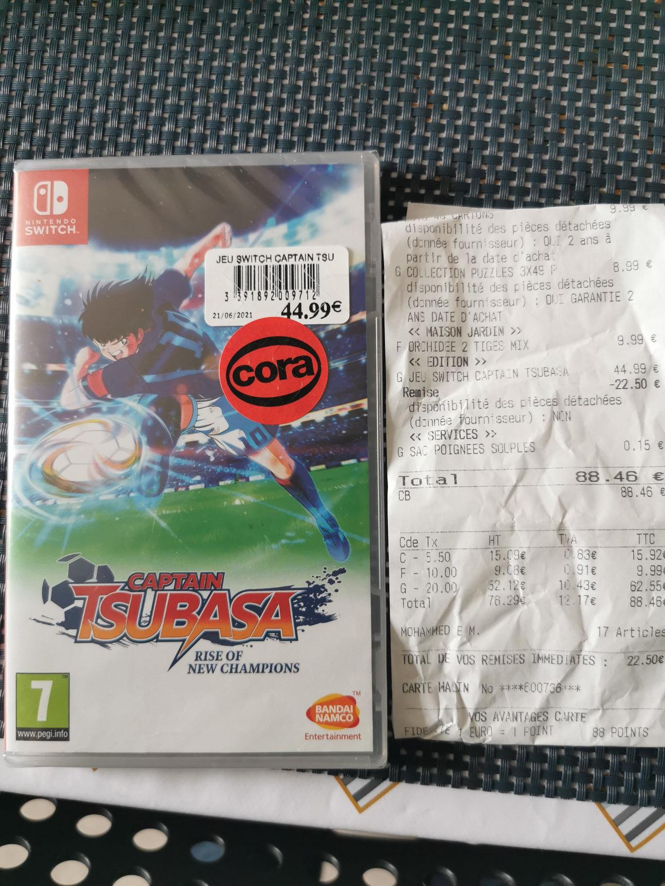 Captain Tsubasa sur Nintendo Switch (Dornach 68)