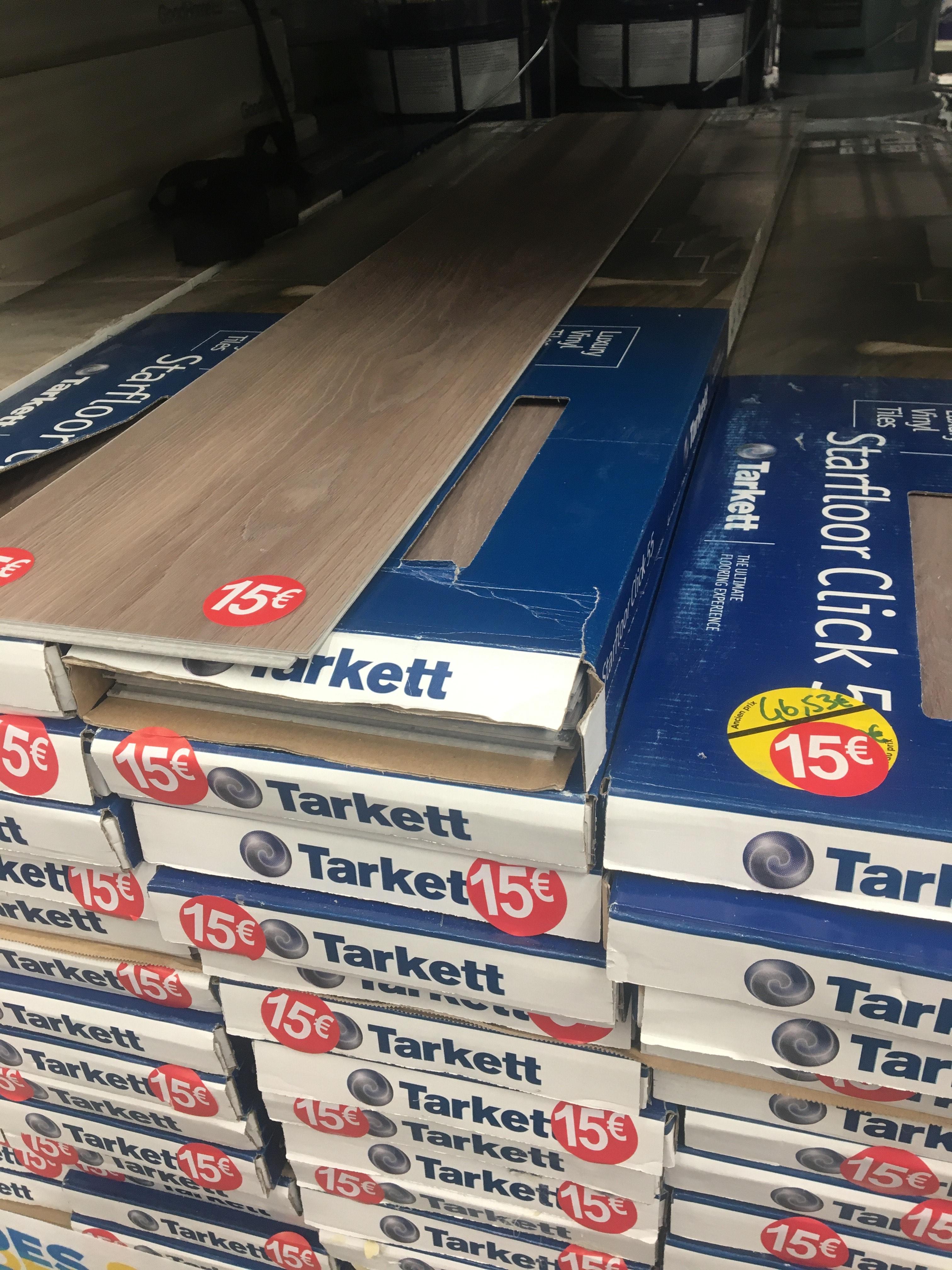 Lame de parquet à clipser Tarkett Starfloor Click 55 (en PVC) - Blagnac (31)