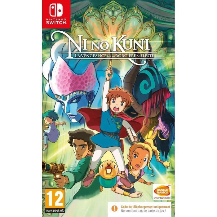 Ni no Kuni : La Vengeance de la Sorcière Céleste Remastered sur Nintendo Switch (Code dans la boite)