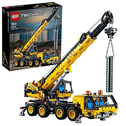 Jeu de construction Lego Technic - La Grue Mobile n°42108 - 1292 pièces