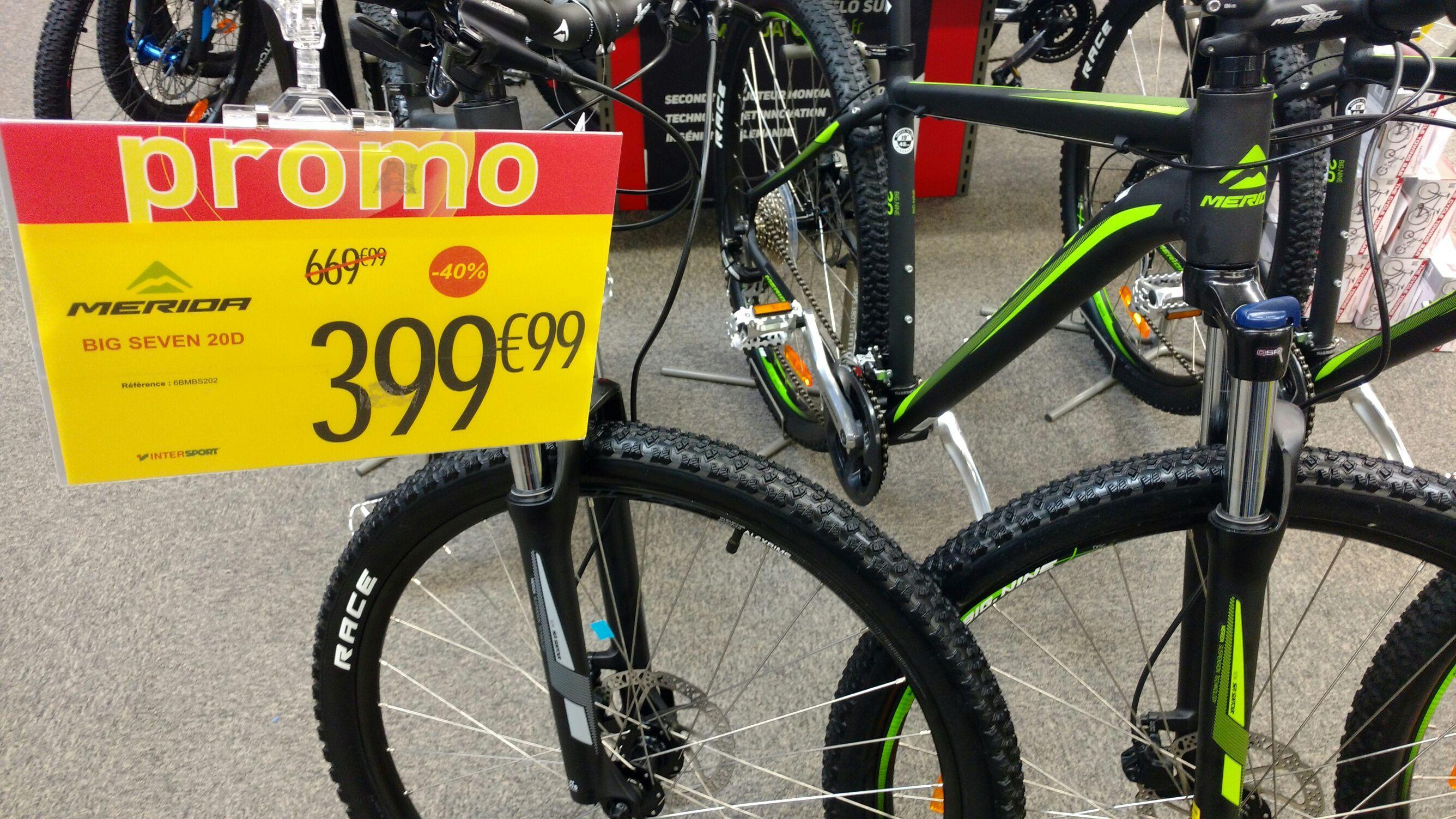 Vélo de rando  Merida big seven 20D