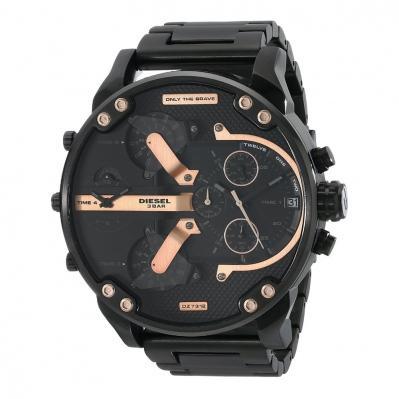 40% de réduction sur une sélection de montres Diesel - Ex :  Montre chronographe dual time Mr Daddy Noir
