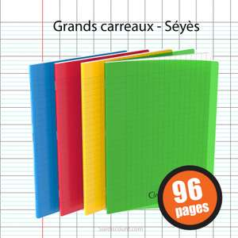 Sélection de produits en promotion - Ex : Cahier polypro 24 x 32 cm (Frais de port inclus - surdiscount.com)