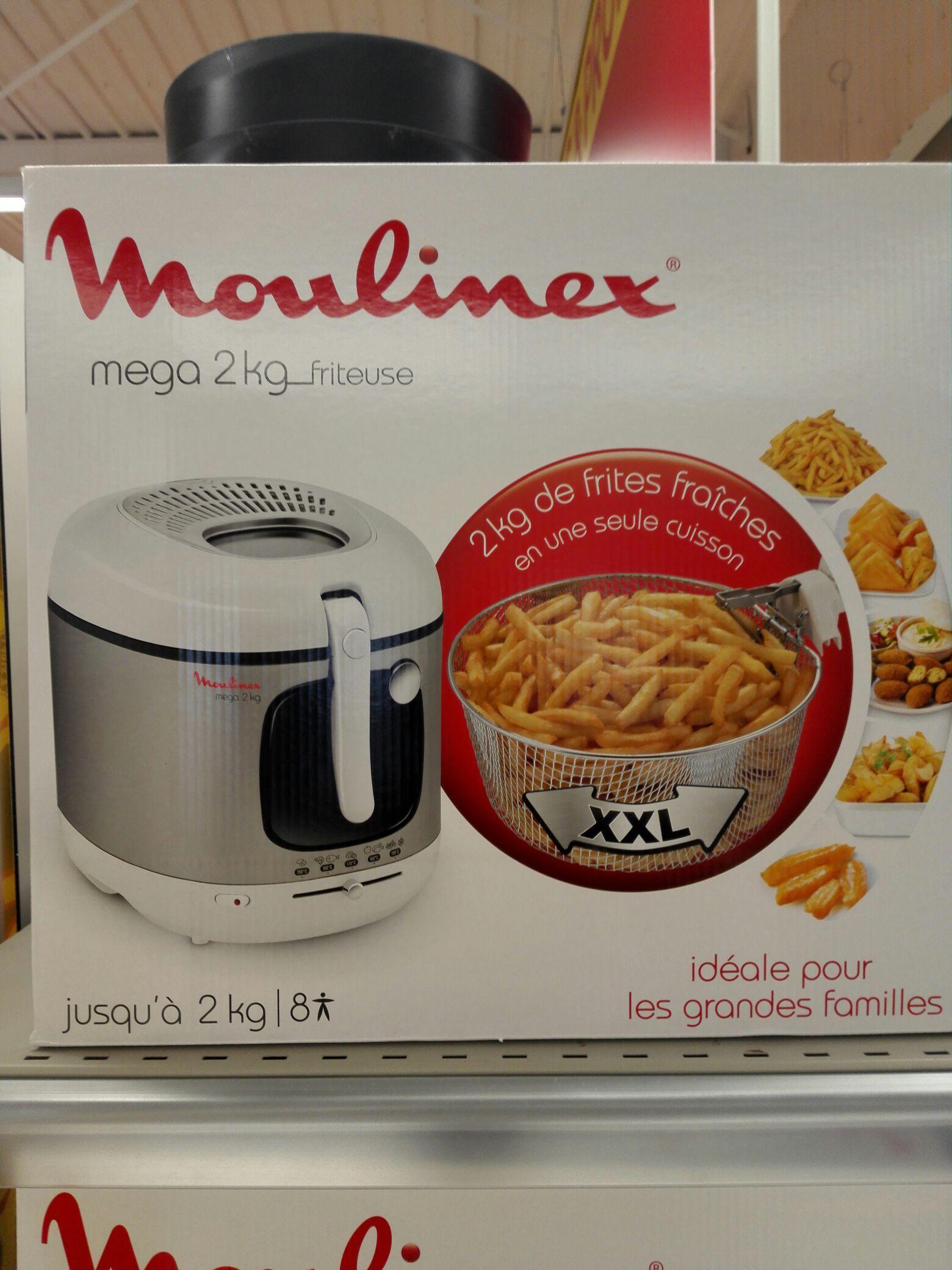 Friteuse Moulinex Méga XXL (2 kg)