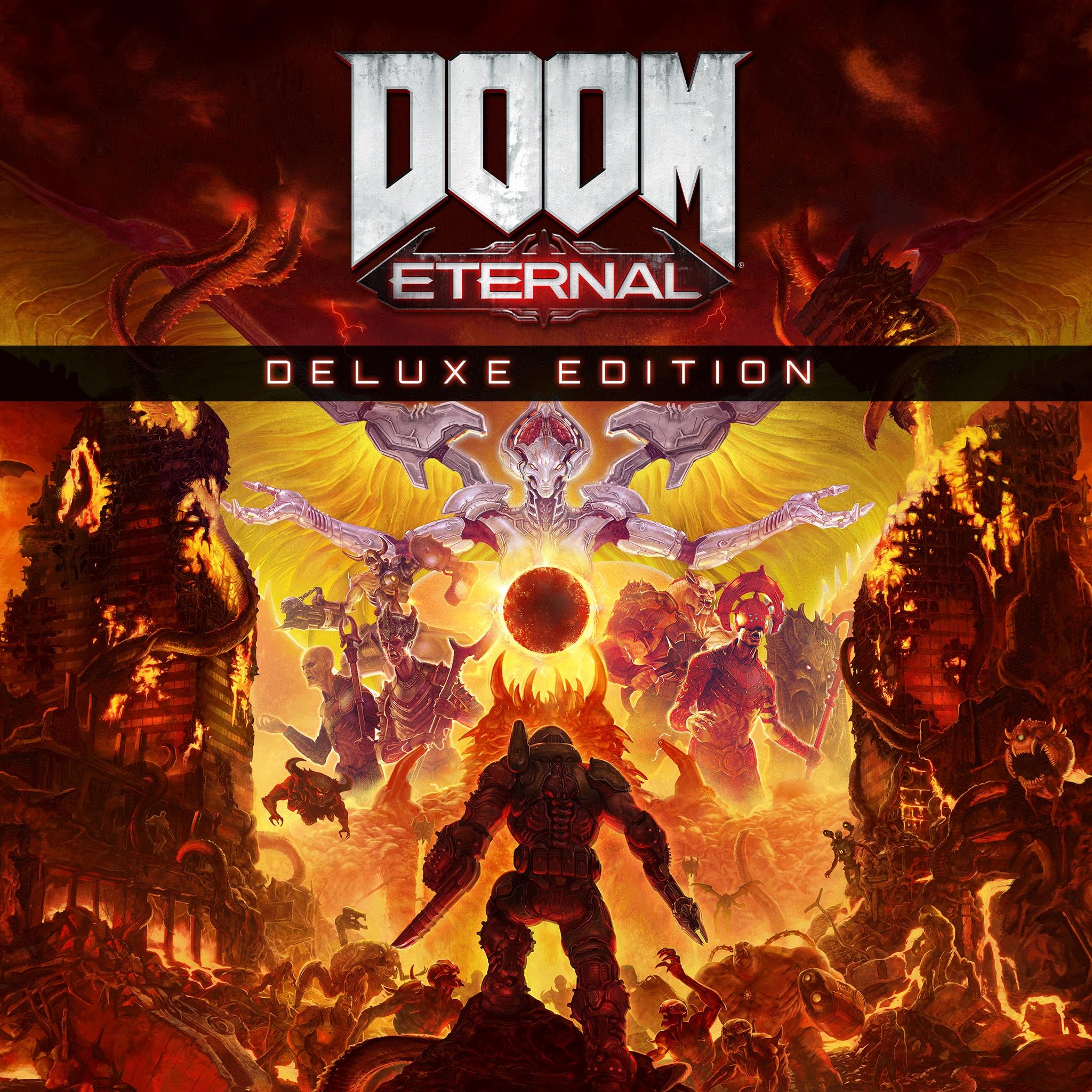 Doom Eternal - Édition Deluxe sur PS4 & PS5 (dématérialisé)