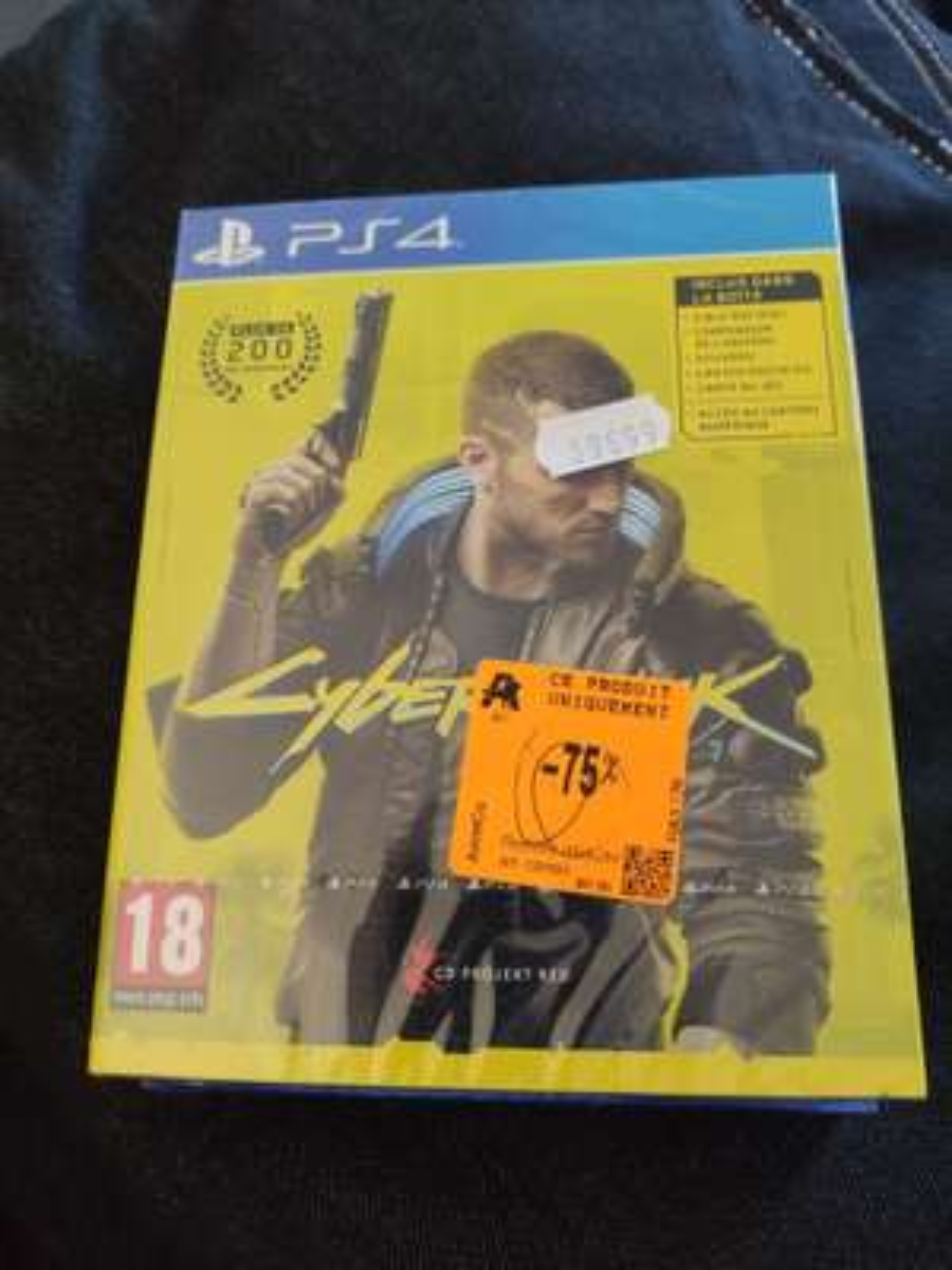 Cyberpunk 2077 sur PS4 et Xbox One - Auchan Grande-Synthe (59)
