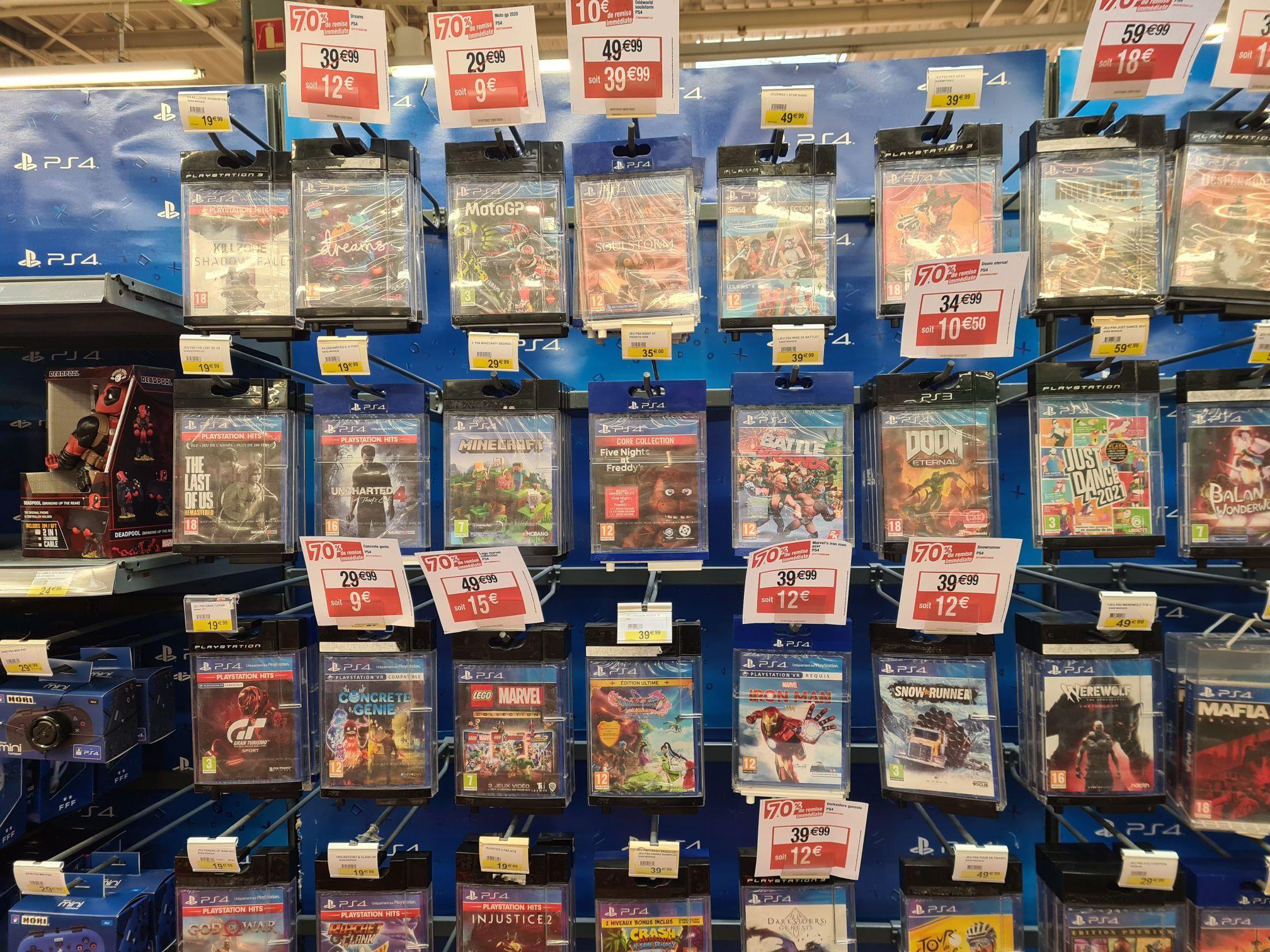 Sélection de jeux PS4 en promotion - Mondelange (57)