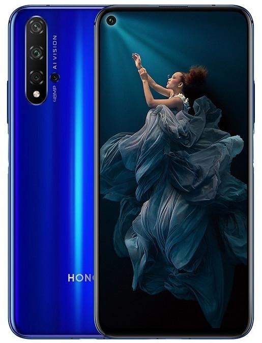 "Smartphone 6.26"" Honor 20 - full HD+, Kirin 980, 6 Go de RAM, 128 Go, avec services Google, bleu - Épagny (74)"