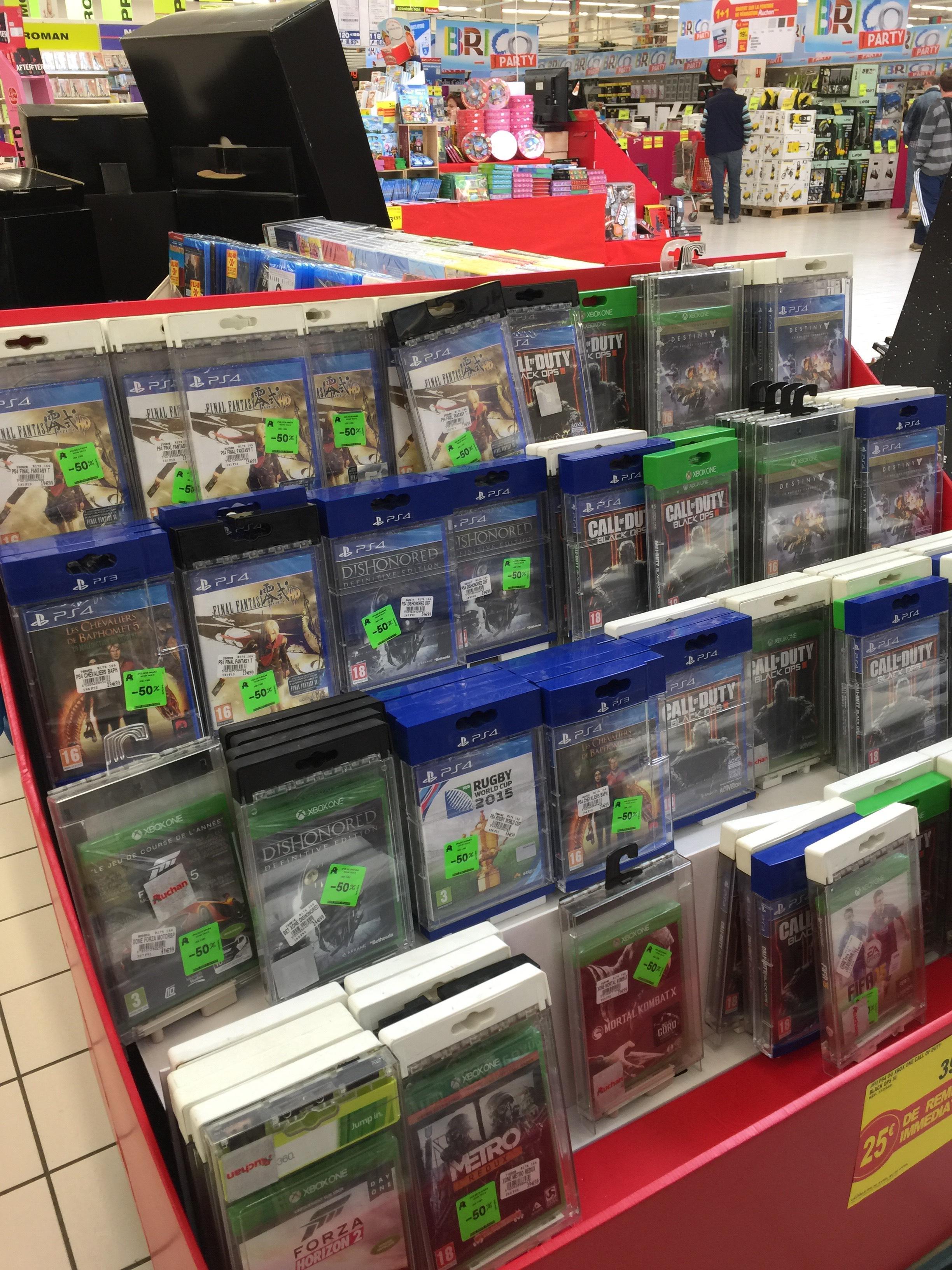 Sélection de jeux vidéo en promotion - Ex : Dishonored: Definitive Edition