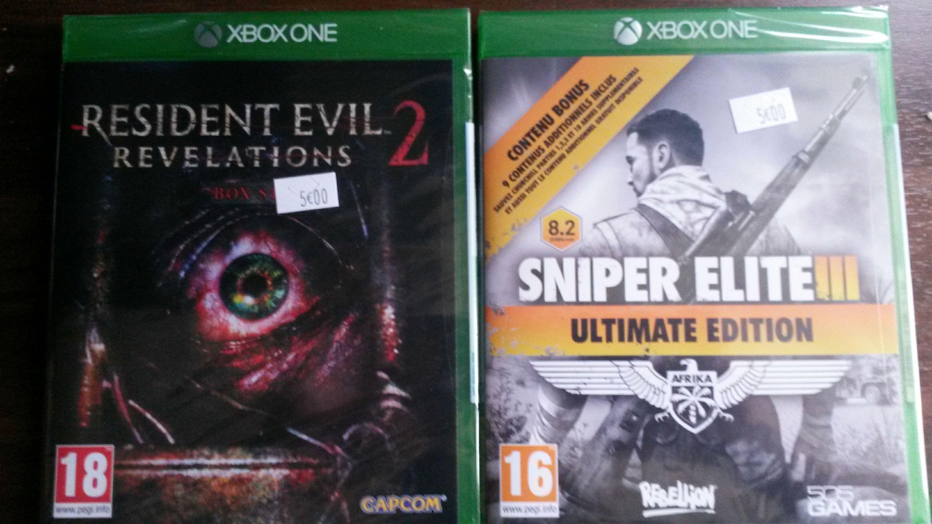 Sélection de jeux vidéo à 5€ - Ex :  Scream Ride sur Xbox One