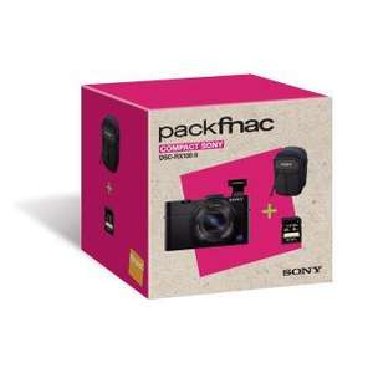 [Adhérents] Pack Sony Cyber-shot DSC-RX100 II Noir + Carte SD 8Go + Étui Sony