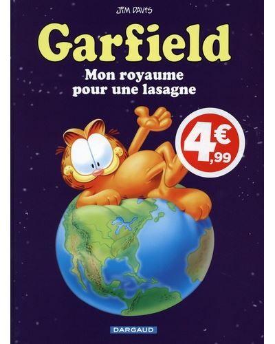 Sélection de bandes dessinées à 4.99€ - Ex : Garfield - Mon royaume pour une lasagne (tome 6)