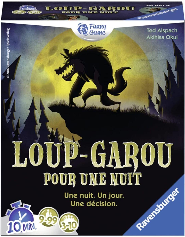 Jeu de carte Loup garou pour une nuit (Via ODR 4.99€)