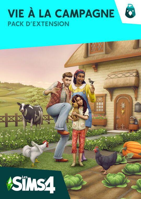 Contenu additionnel Vie à la campagne pour le jeu Sims 4 (Dématérialisé - Origin)