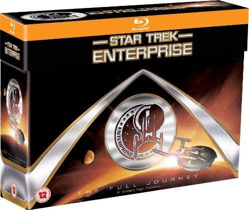 Coffret 24 Blu-ray Star Trek : Enterprise The Full Journey (Import anglais, VF incluse)