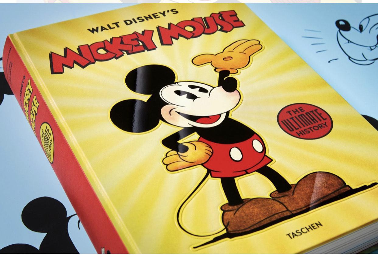 Livre Walt Disney's Mickey Mouse : Toute l'histoire (taschen.com)
