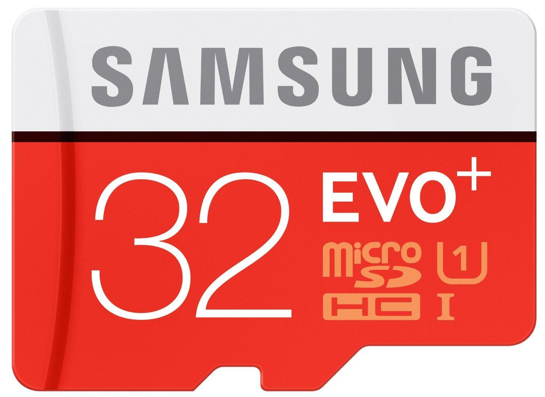 Carte SDHC Samsung Pro+ 32Go à 20.17€ ou Carte microSDHC Samsung Evo+ 32Go
