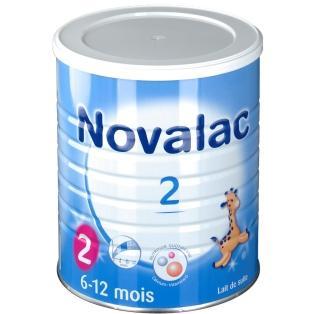 10€ de réduction dès 69€ d'achat - Ex : 7 boites de Lait Novalac 2ème âge