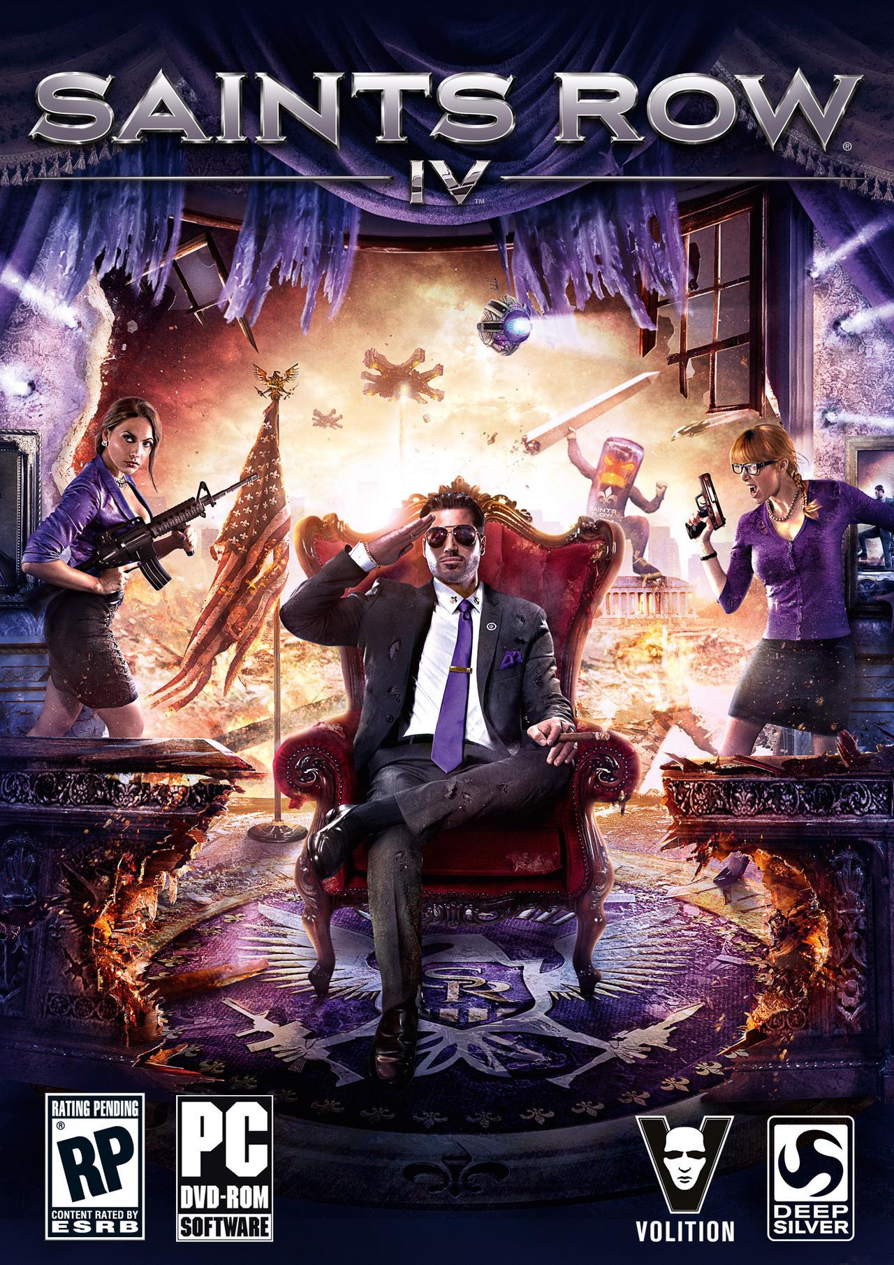 Saints Row IV + Deadly Premonition : The Director's Cut sur PC (dématérialisés)