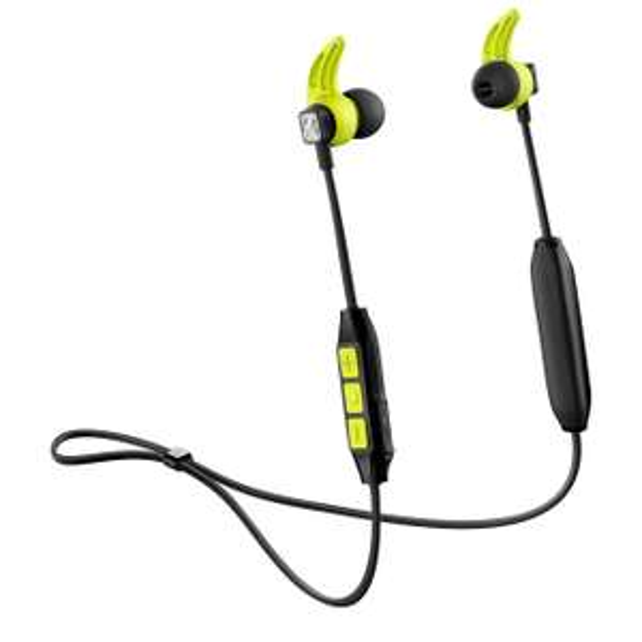 Écouteurs de sport sans-fil Sennheiser CX Sport - Bluetooth, Noir/Jaune