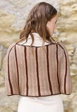 Patron de tricot Isaura Cape (en PDF) gratuit