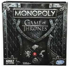 Monopoly édition Game of Thrones collector