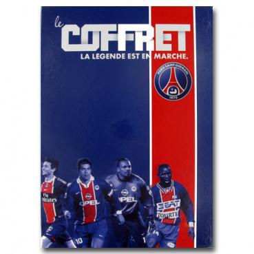 Coffret PSG livre historique + DVD (Saison 2011-2012)