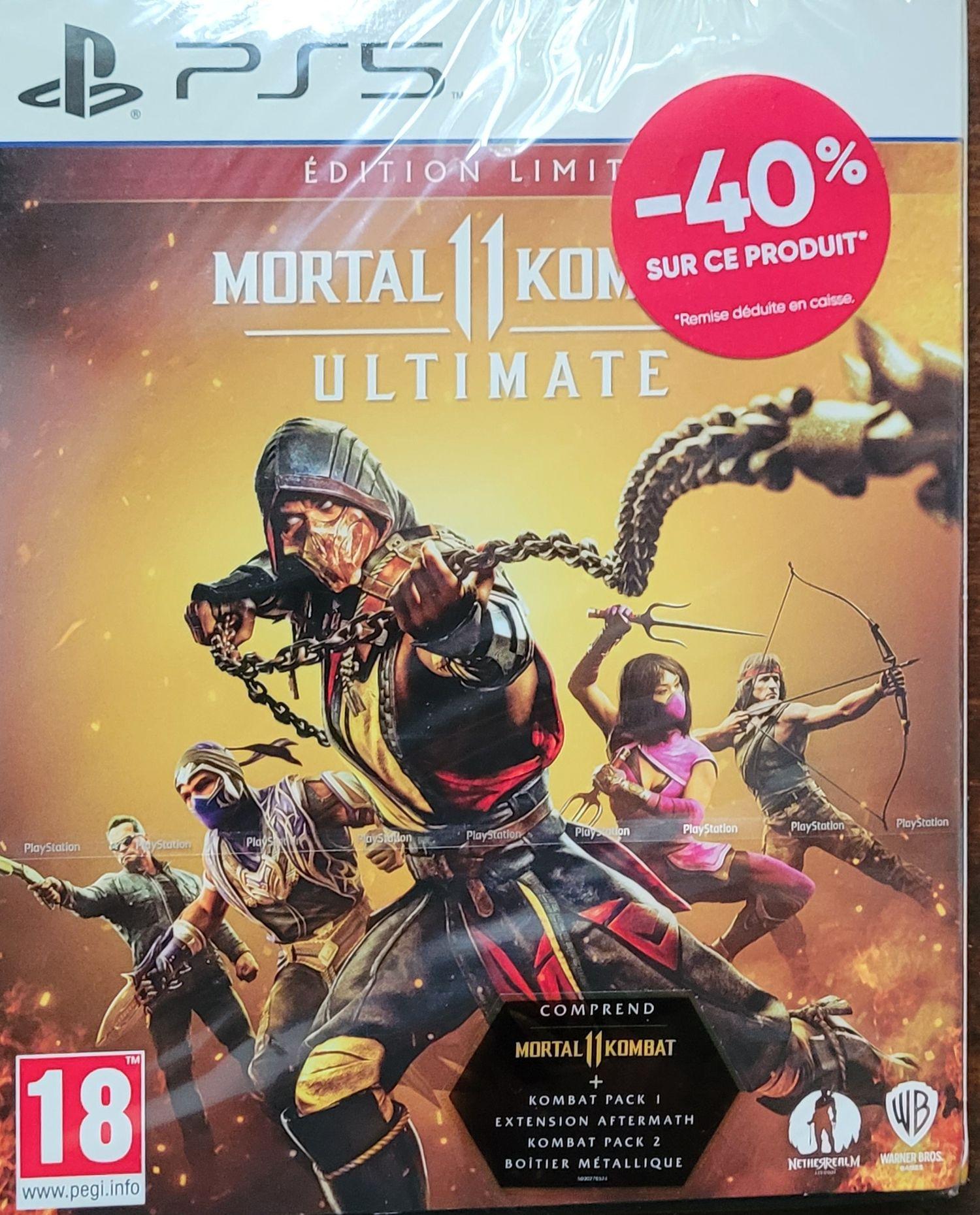 Mortal Kombat 11 Édition Limitée sur PS5 - Crest (26)
