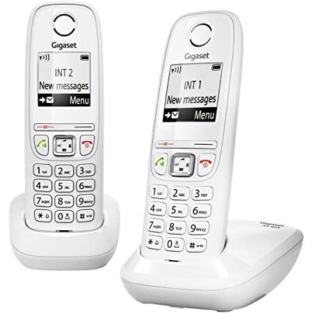 Jusqu'à 50% sur une selection de téléphones fixes - Ex: Gigaset AS405 Duo - Blanc