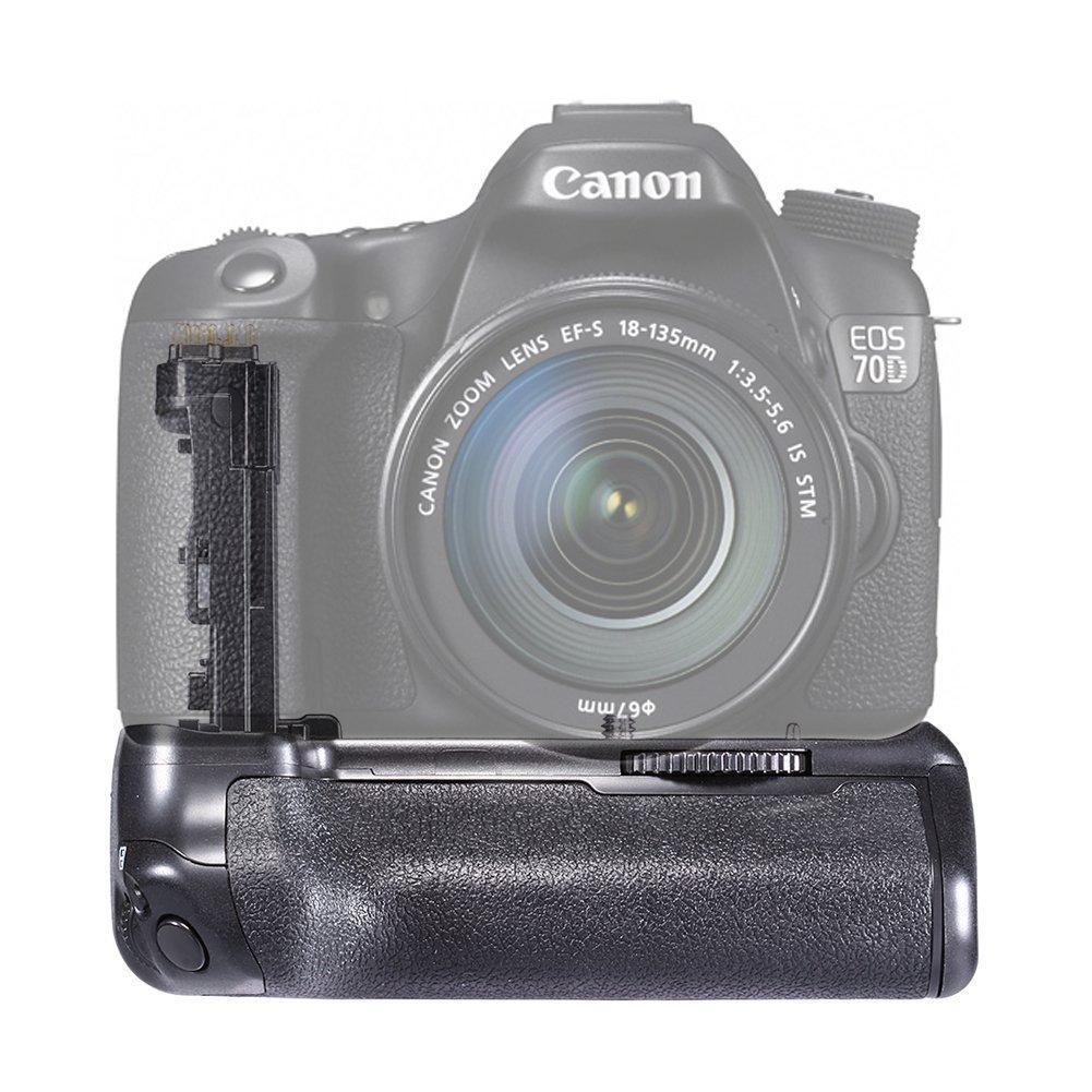 Grip Poignée Neewer compatible BG-E14 pour reflex Canon 70d, 80d