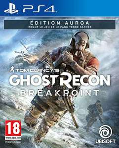 Ghost Recon Breakpoint Edition Auroa sur PS4