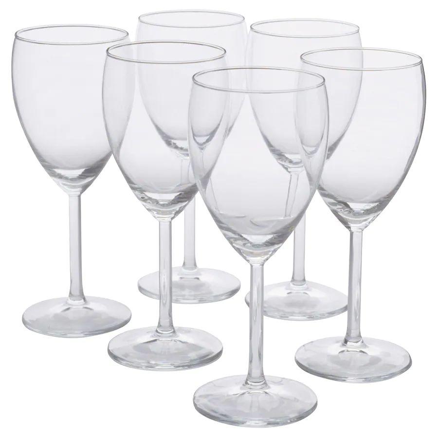 6 verres à vin blanc - 25cl - Lyon Grand Parilly (69)