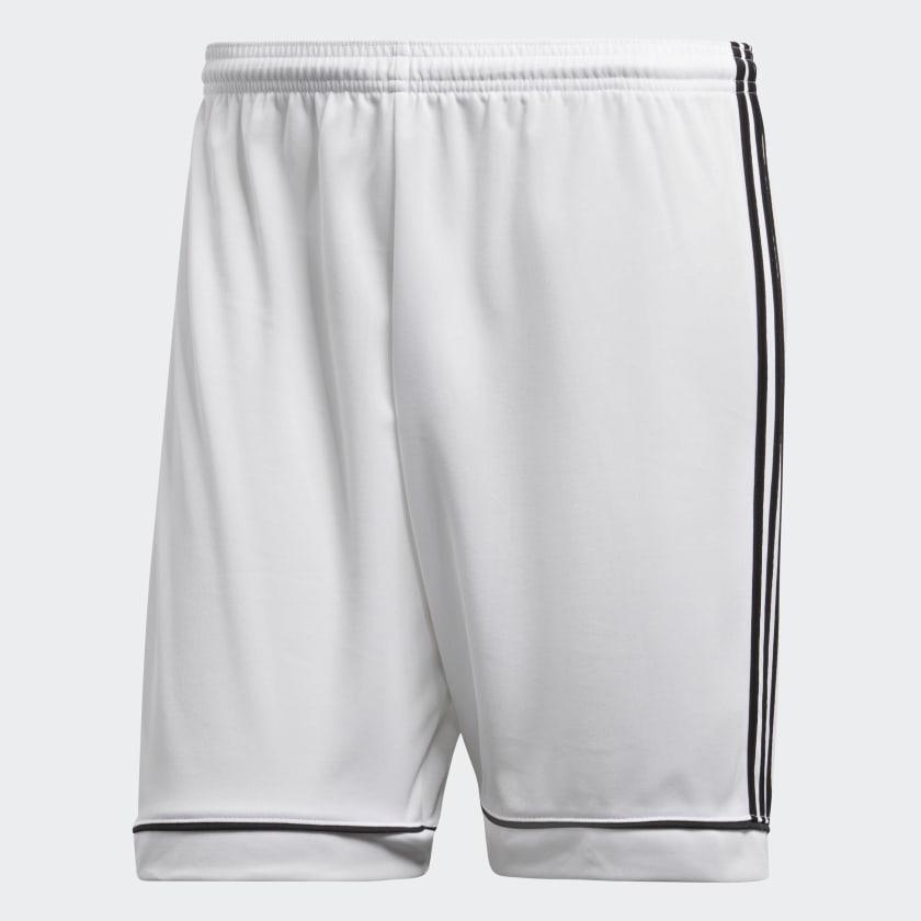 Short de football adidas Squadra 17 - blanc (du XS au XL)
