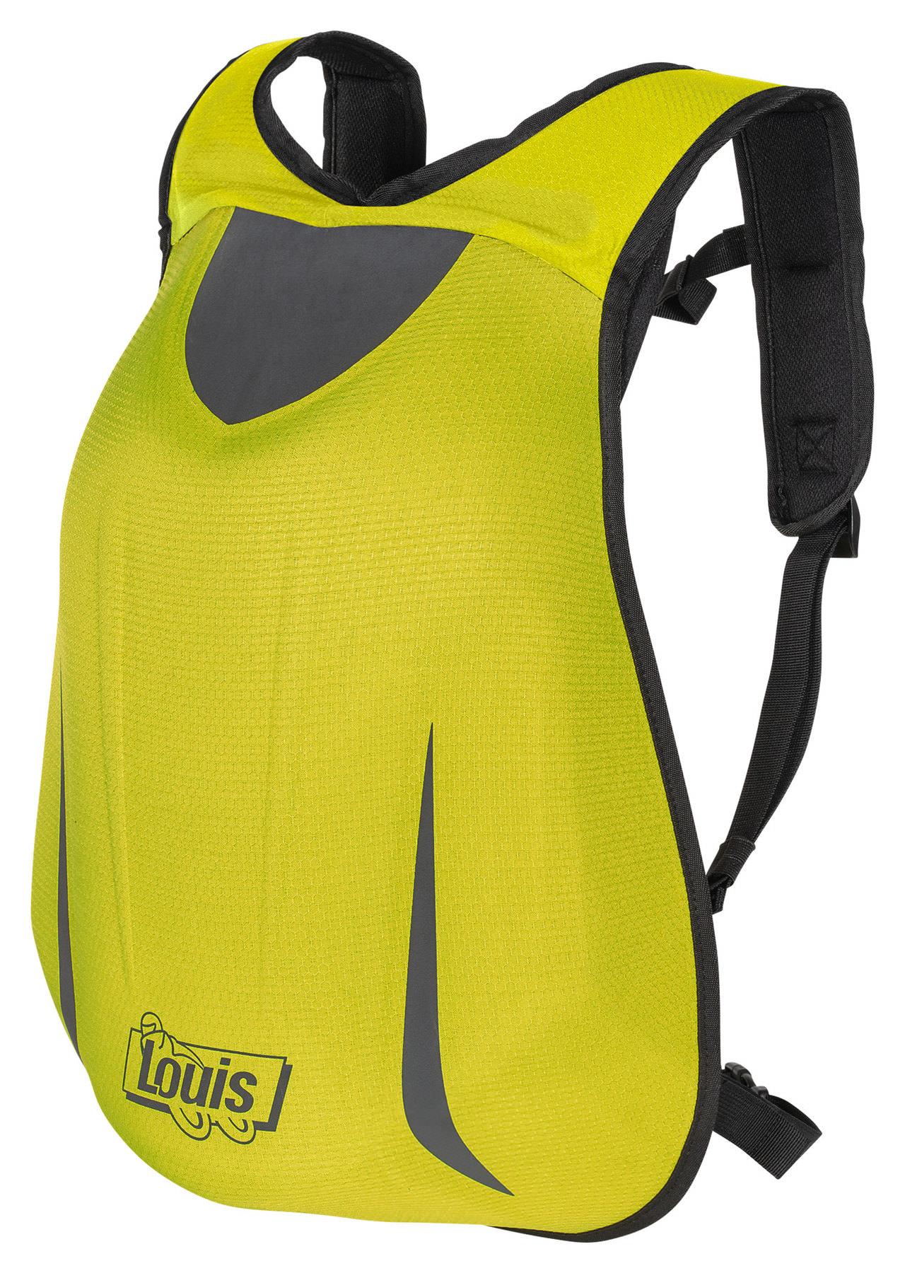 Sac à dos Louis - 24 L, jaune/noir