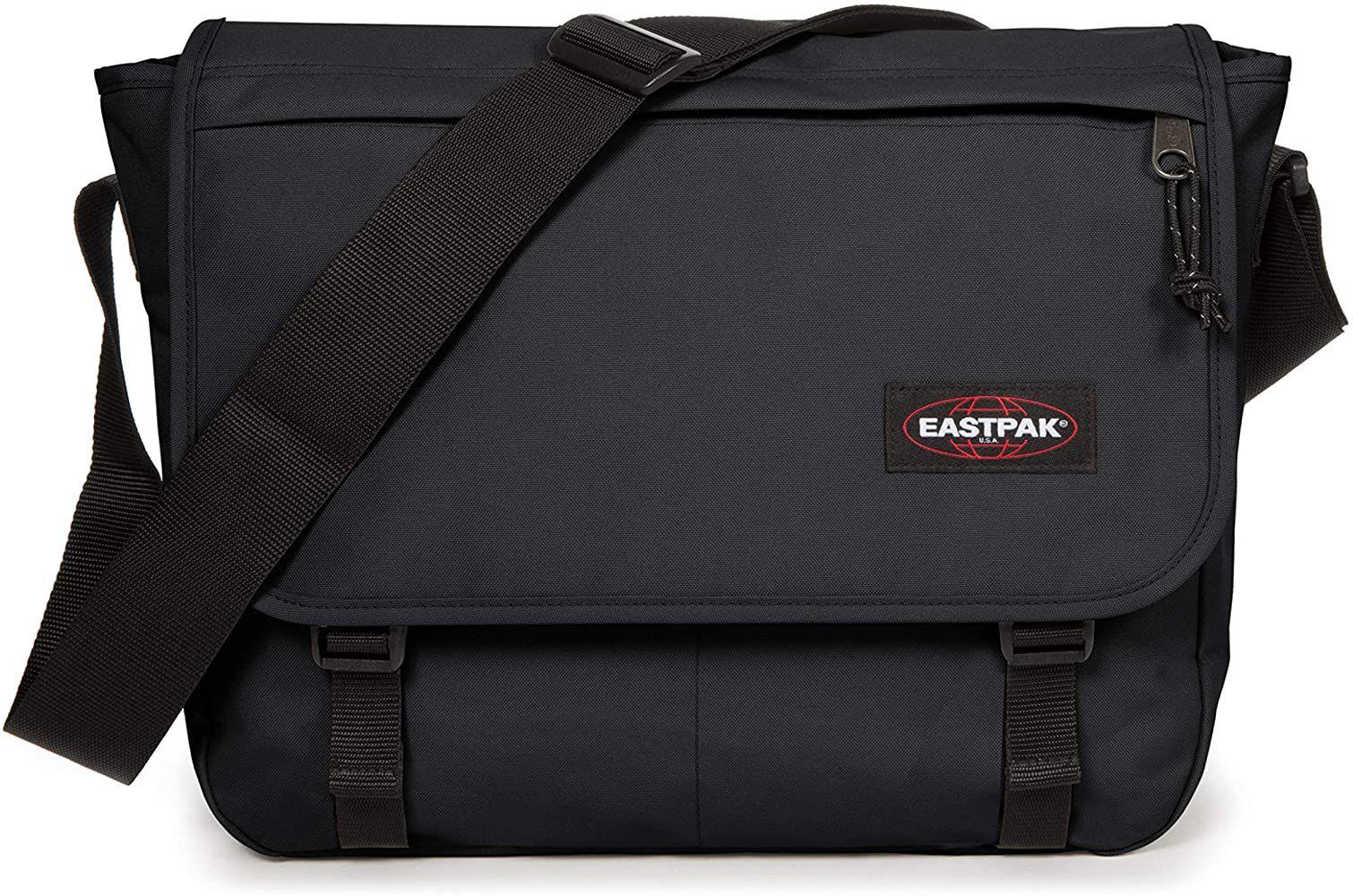 Sac Bandoulière Eastpak Delegate - 38 cm, 20 L, Noir (Black)