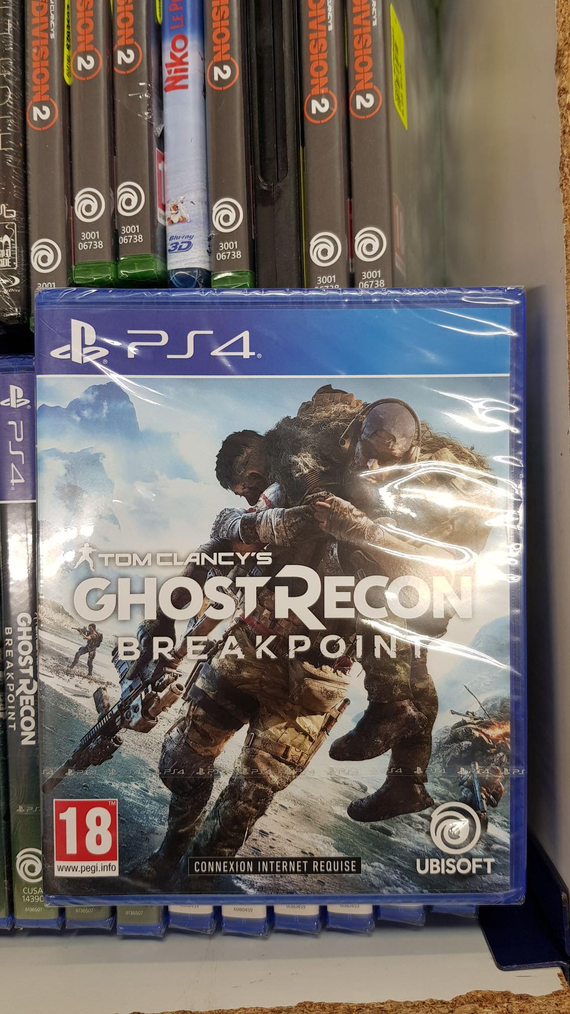 Tom Clancy's Ghost Recon: Breakpoint sur PS4 - Les Sables-d'Olonne (85)