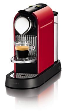 Machine Krups YY1471FD Nespresso Citiz - Rouge (Reconditionnée)