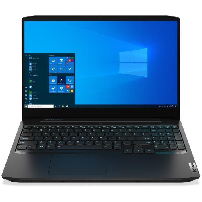 "PC Portable 15.6"" Lenovo Ideapad 3 15ARH05 - FHD, Ryzen 5 4600H, RAM 8 Go, SSD 512 Go, GTX 1650 Ti 4Go (+ 69.99€ à cagnotter pour les CDAV)"