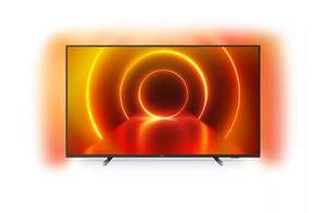 """TV 58"""" Philips 58PUS7805 - 4K UHD, HDR10+, LED, Smart TV, Dolby Atmos & Vision, Ambilight 3 côtés"""